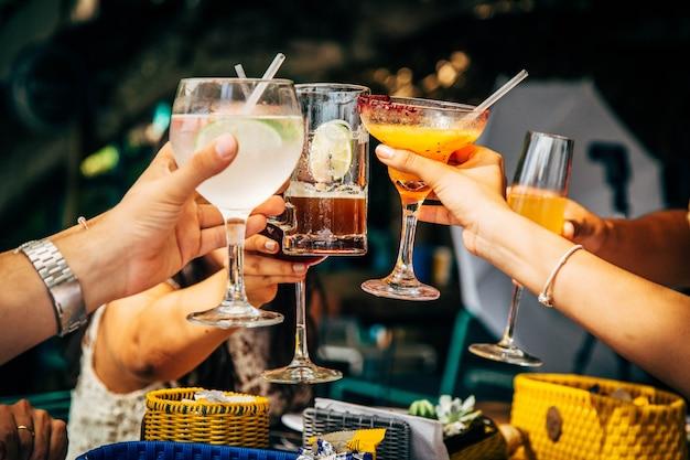 乾杯のお祝い
