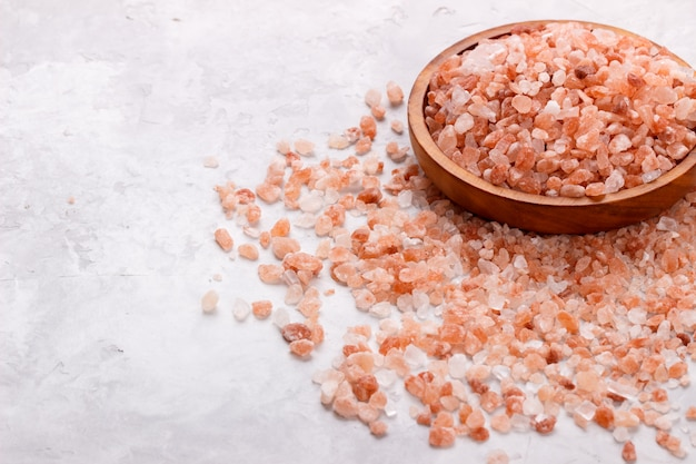 ピンクのヒマラヤの塩