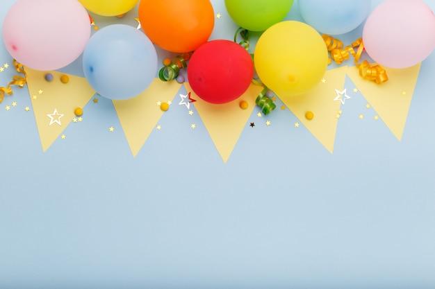 誕生日パーティーの背景