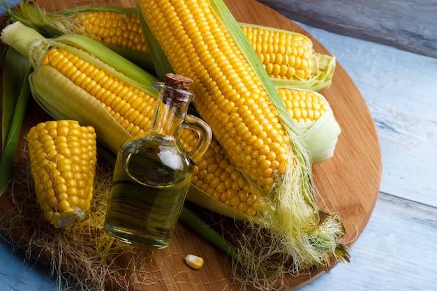 Свежие кукурузные масла