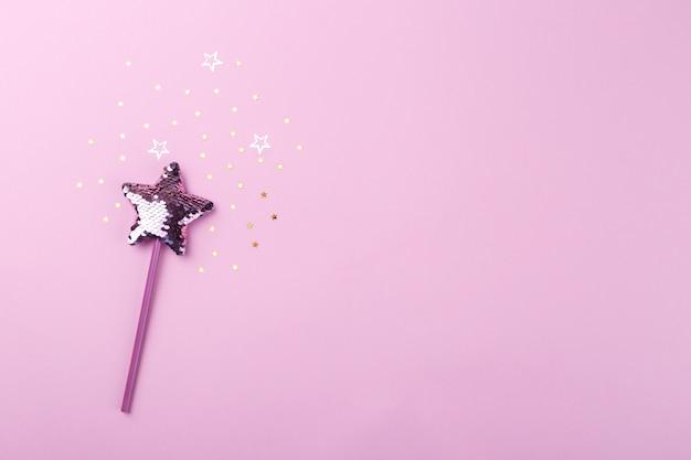 輝く魔法の杖