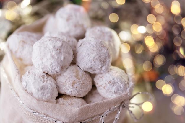 伝統的なギリシャのクリスマスクッキー