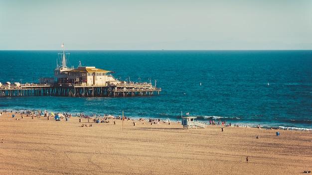 カリフォルニアのサンタモニカ桟橋