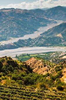 カラブリアの乾燥河床