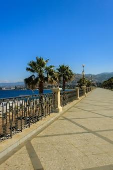 レッジョディカラブリアの遊歩道