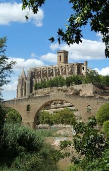 Собор ла сеу, манреса, провинция барселона, каталония, испания