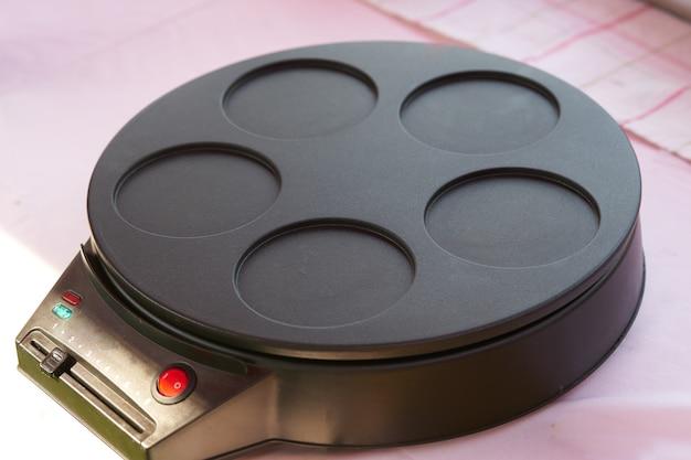 パンケーキ調理電気鍋、空