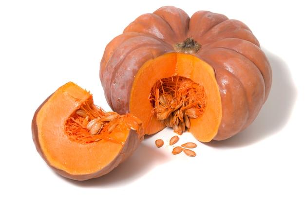 大きなオレンジ色のカボチャ