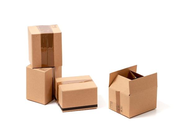 Классические картонные коробки
