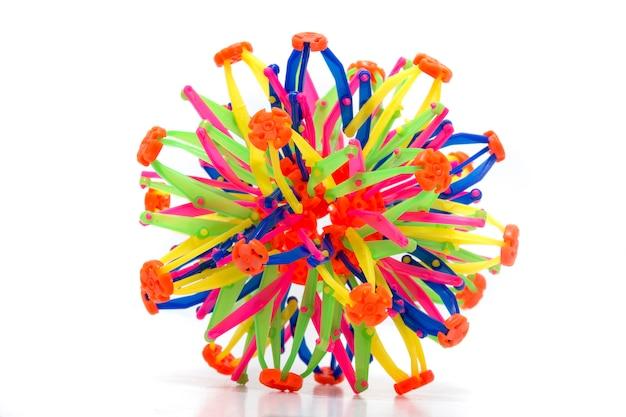 折りたたみ虹色の球
