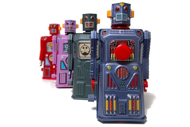 ヴィンテージブリキロボットおもちゃ