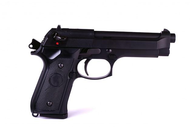 Изолированная страйкбольная пушка
