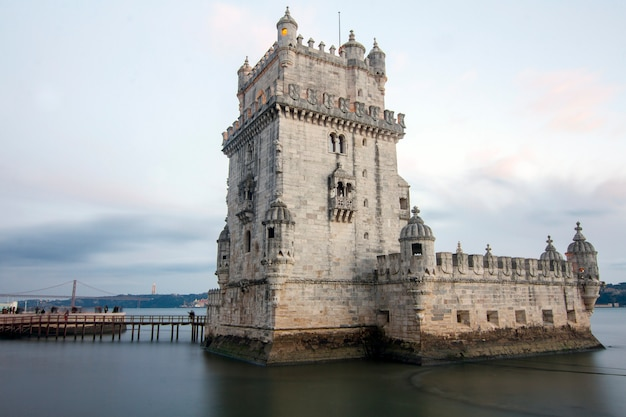 ポルトガルのリスボンにある有名なランドマーク、ベレンの塔。