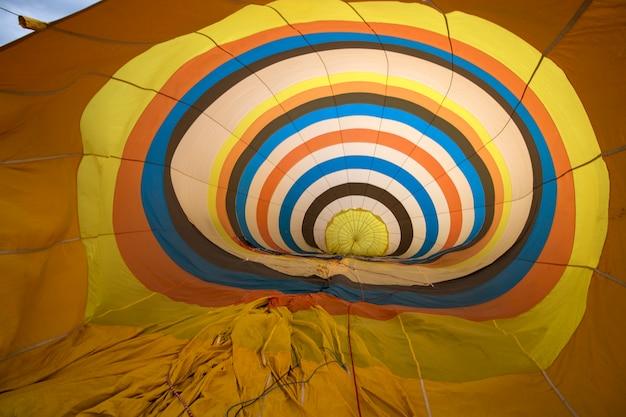 熱気球フェスティバルの昇天