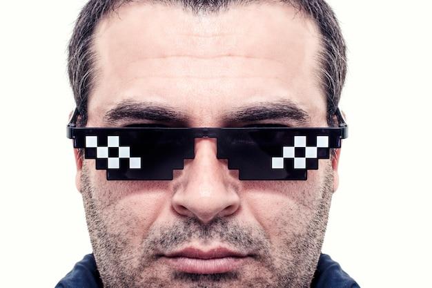 ミームピクセルメガネ