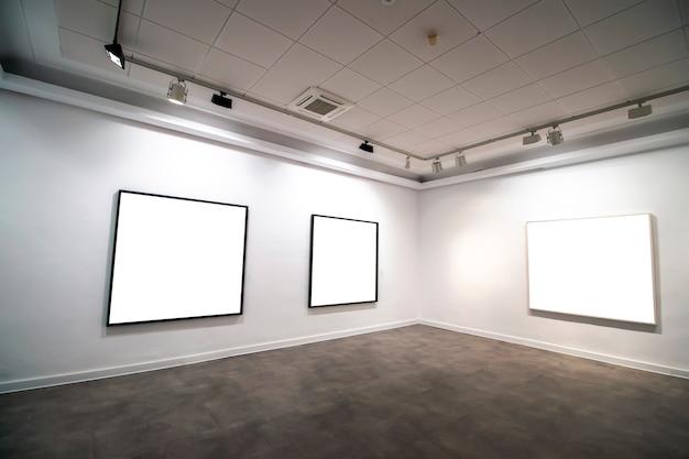 現代美術館ギャラリーのインテリア