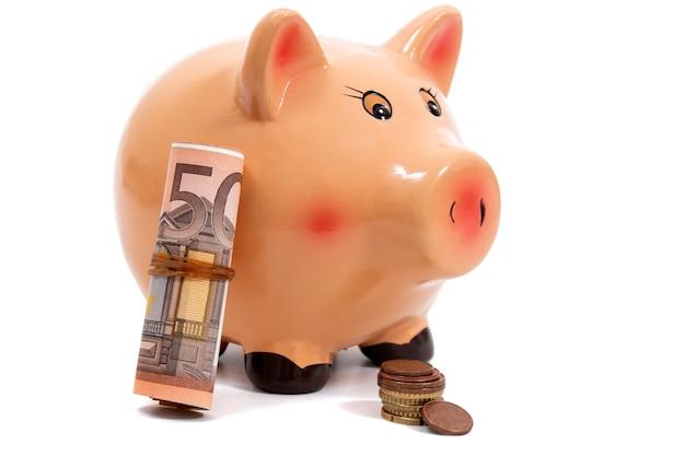 ユーロのお金で貯金