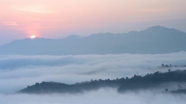 霧の海、フーサラ、スキリン、ナコンシータマラート