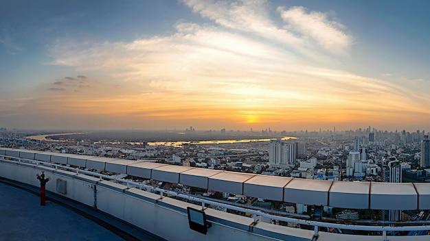 Бангкок город вид с высоты