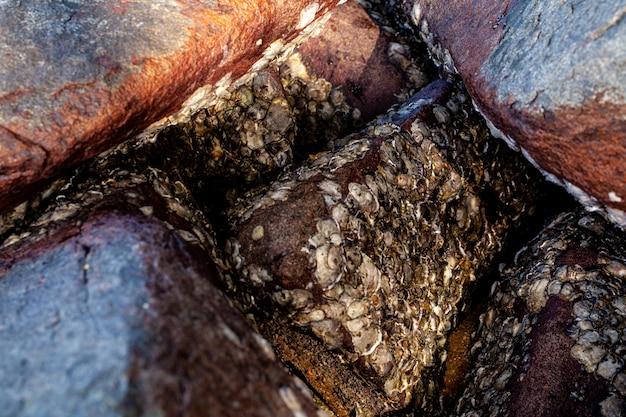 ロックテクスチャの大理石の背景