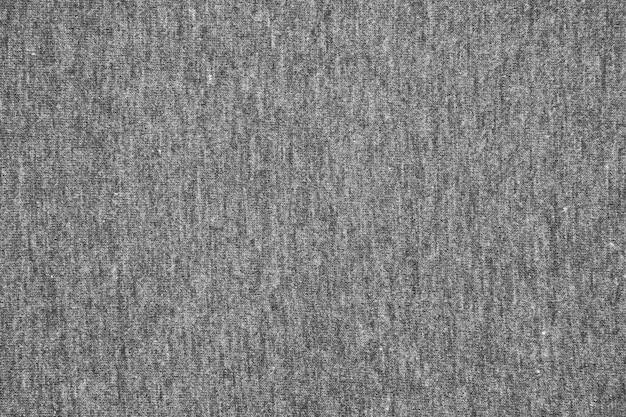 Серая трикотажная ткань текстуры фона.