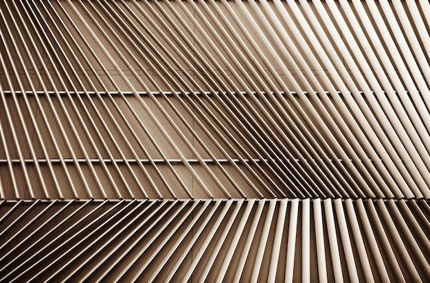 建物に換気現代銅の抽象的なクローズアップビュー