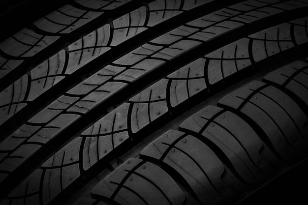 タイヤの質感