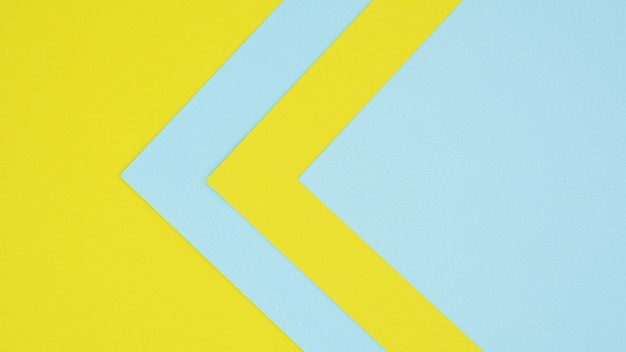 Синие и желтые текстуры бумаги
