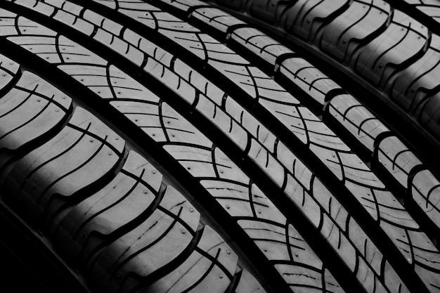 タイヤのテクスチャ - 背景