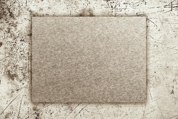グランジとスクラッチの金属板の背景