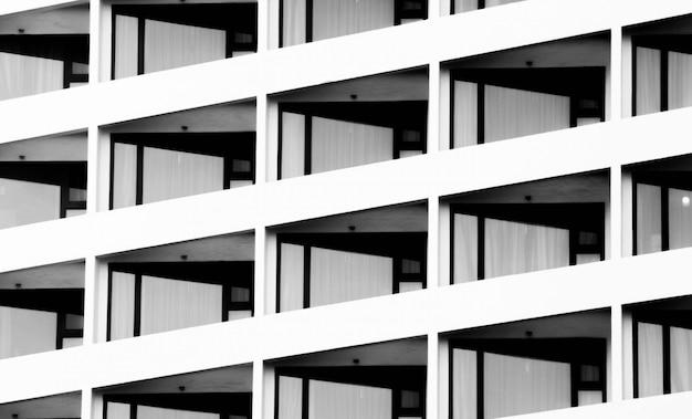 ウィンドウビルディングモダンスタイルの建築