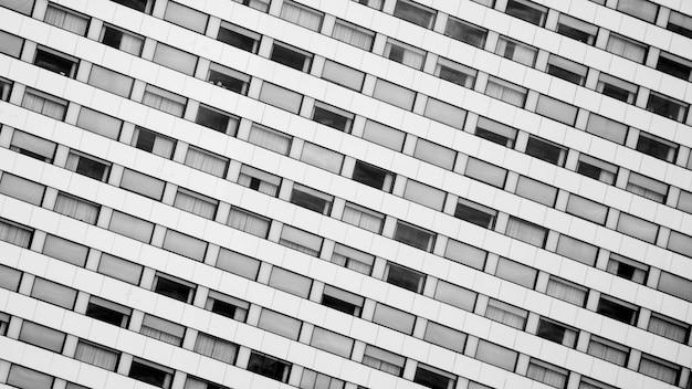 モダンな窓建築の建築