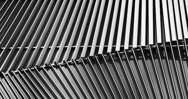 建物に換気現代銀の抽象的なクローズアップビュー