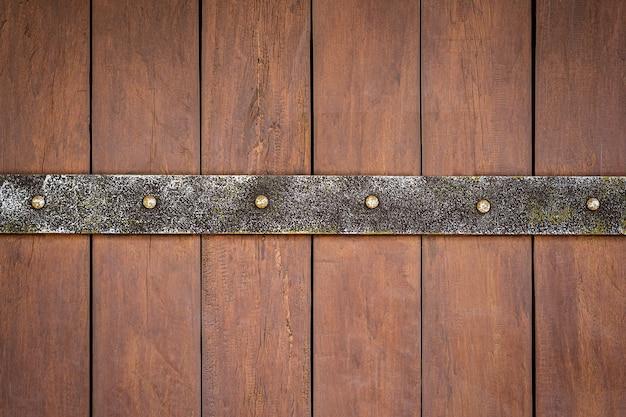 背景の木の板のテクスチャ