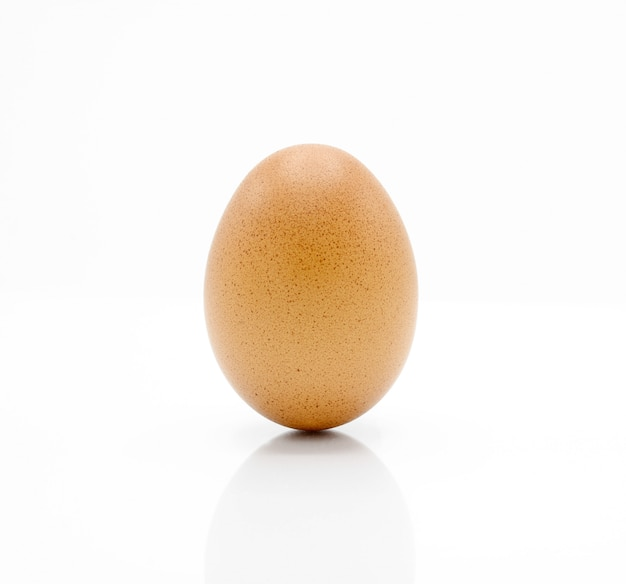 Яйцо изолированное на белизне