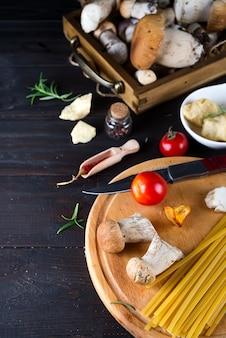 イタリア料理、スパゲティレシピ成分
