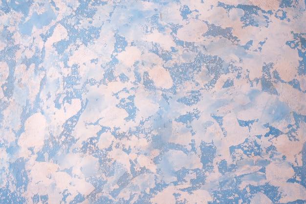 高解像度の青い白い石の背景。上面図。