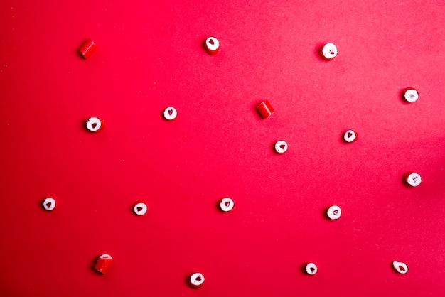 心臓キャンディのパターン