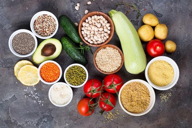 有機的な健康食品クリーンな食生活選択を含む特定のタンパク質予防がん