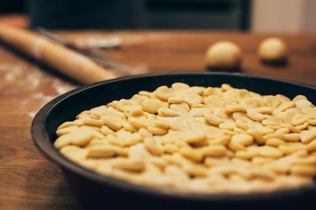 感謝祭のパイ作り