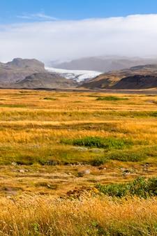 アイスランド、ヴァトナヨークトル氷河国立公園