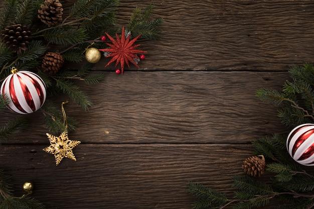 クリスマスの新年のコピースペースの背景幸せの時間を祝う