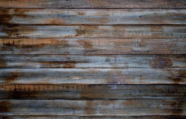 木製の壁の質感とウッドの背景