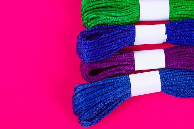 刺繍用の多色糸