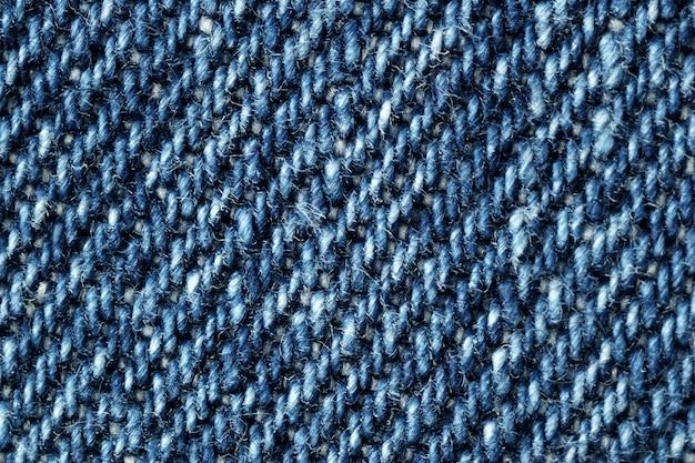 背景のデニム織りパターン。
