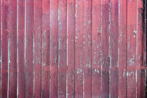 Старый красный деревянный фон