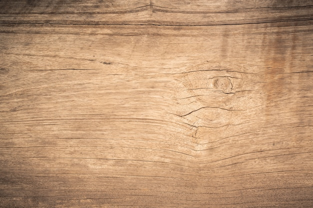 き裂を有する平面図茶色木パネル
