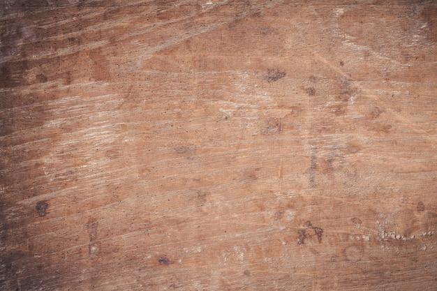古いグランジダークテクスチャ木製、古い茶色の木目テクスチャの表面