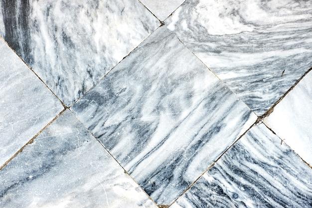 白い大理石のタイルの床、テクスチャの背景。
