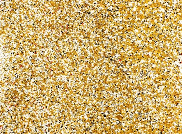 ゴールドキラキラのテクスチャの背景、輝く休日の背景
